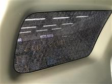 ハイラックスサーフ サイドガラス交換