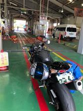 GSX-R1000車検&SMARTゾロ目Get!