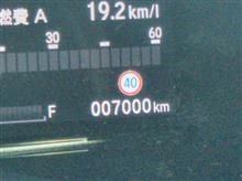 7000km達成!