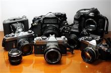 フィルムカメラを準備する