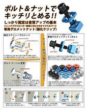 【強化クリップ】SonicPLUS SUBARU スピーカーパッケージ専用 オリジナルパーツ