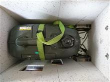 発電機防音箱補修