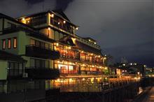 京都で川床ディナー🍴