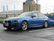 タイヤショップしてます...BMW F30 320d ミシュランPS3 225/45&255/40R18