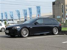 メンテナンスは大事...BMW F11 523d エンジンオイル+エレメント交換 4CT-S