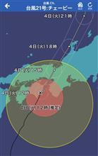 台風21号に備えて(2)
