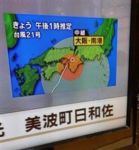 また台風直撃かーい。(汗