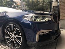 BMW G31 M performance エアロの装着