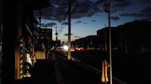 揺れる札幌