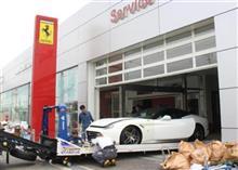 51台のフェラーリが全損?