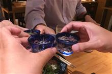 新蕎麦・新秋刀魚で乾杯♪ 日本橋の懐かしい再会