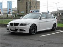 メンテナンスは大事...BMW E91 320 エンジンオイル交換 4CT-S