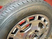 ハイエース、NV350キャラバン御用達タイヤ&ホイールセット。