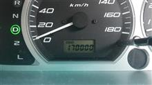 祝170000km