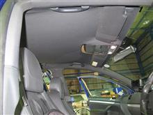準備完了...ゴルフⅤ R32 天井張替...車内より取り外し