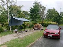 雨雲の中でキャンプ 1日目②