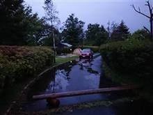 雨雲の中でキャンプ 2日目