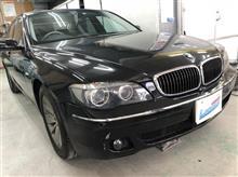 【BMW750i 板金・塗装・修理】 東京都小平市よりご来店のお客様です。