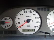 19万キロ超え