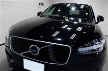 SUVフラッグシップモデル。ボルボ・XC90 のガラスコーティング【リボルト岡崎】