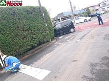 事故発生! 会社の目の前のキケンな交差点・・・