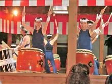 秋祭り 太鼓と花火見に行ってきました