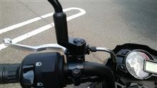 【Z125 PRO】 オフセットホルダー30 取付 後方視界確保