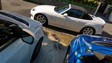 洗車してゾロ目ゲットしてDrive