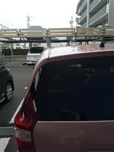 色々新しく洗車用品を買ったけど、天候不順で使えない。(T_T)