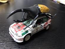 WRCトヨタ1-2フィニッシュ