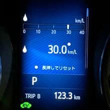 ◆【備忘録】C-HRの燃費 30km/L