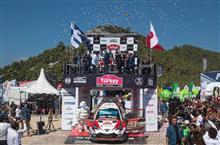 WRC第10戦ラリー・ターキー(トルコ)DAY4