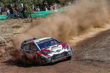 WRCトルコ トヨタ1-2達成 選手権首位奪取‼