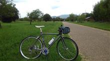 久々の自転車