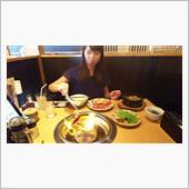 彼女と焼肉デートでした(^^)