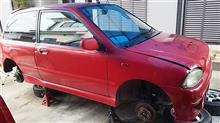 謎びびは超初期モデルA型KK3RX-R不動車を入手した。。。