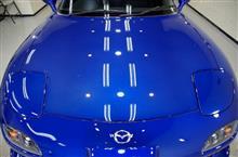 RX-7の磨き・ガラスコーティング【リボルト宇都宮】
