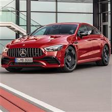 the new Mercedes-AMG GT 43 4MATIC+ 4-Door Coupé.