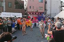 平日の商店街祭り
