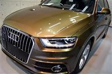 『まだまだ輝く、USED CAR。』アウディ・Q3 2.0 TQ S-lineのガラスコーティング【リボルト札幌】