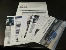 AUDIから法定一年点検のご案内(名簿更新忘れ?)