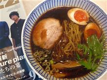今日は細麺^^;