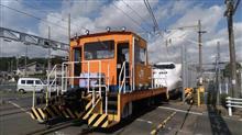 四日市エリアにはナローゲージというレアネタがあったけど、浜松には新幹線の踏切っていうレアネタがあった