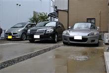 楽しい洗車(笑)