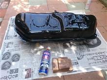 燃料タンク再生外装塗装