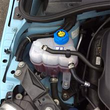 FIAT500リザーバータンク交換