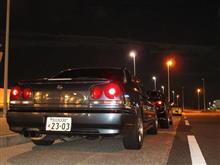 3か月ぶりに夜遊び(^-^)