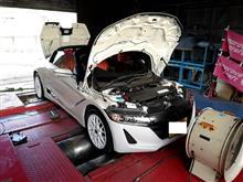 クルーズ S660 GT100Rセッティング開始!