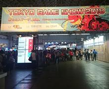 初めての東京ゲームショウ(^^;