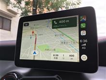 Apple CarPlayでGoogleマップ表示!